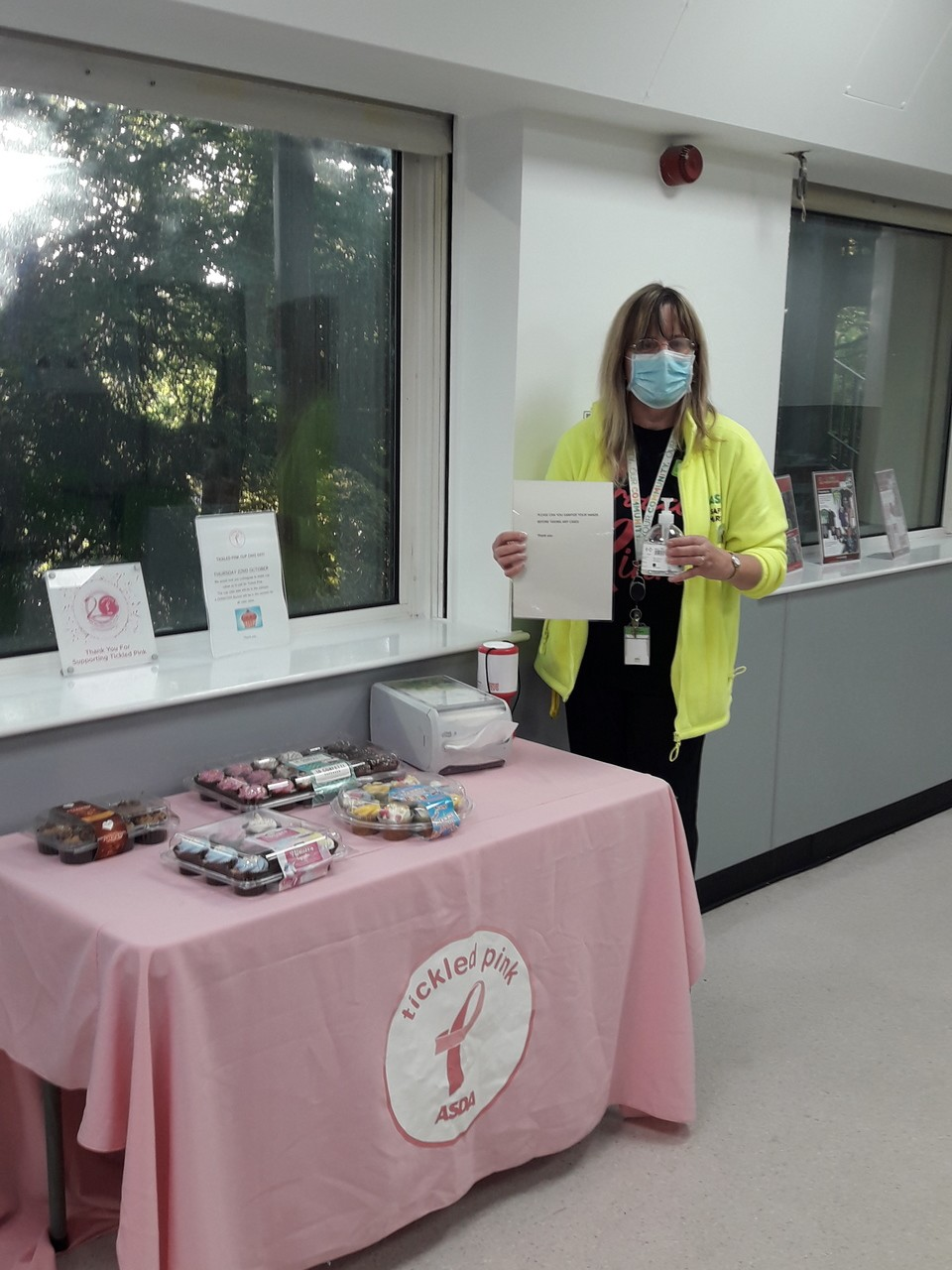 Tickled Pink awareness and fundraising | Asda Chatham