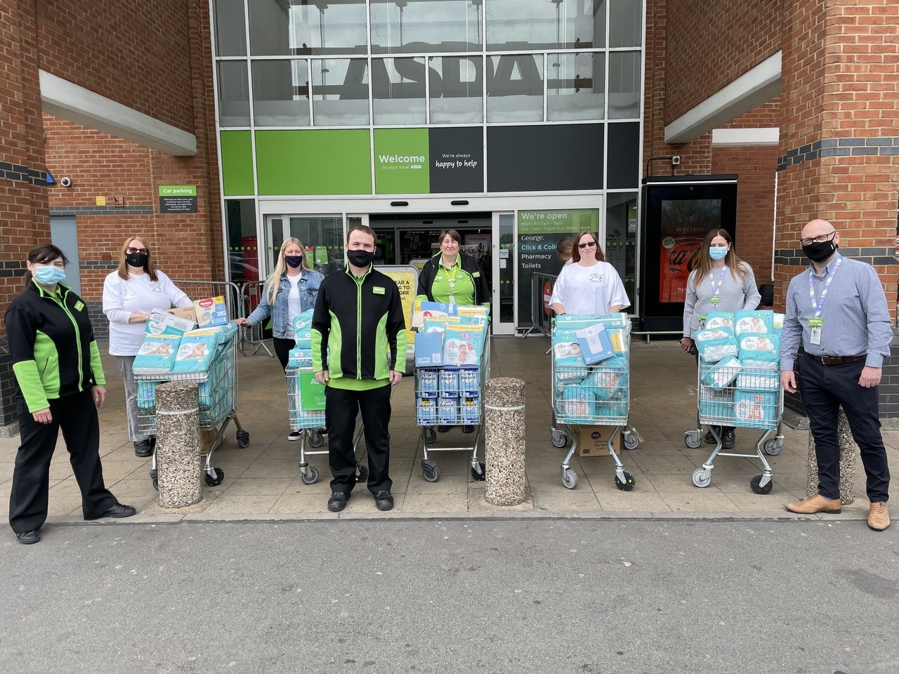 Support in the communities Grant | Asda Abbey Park