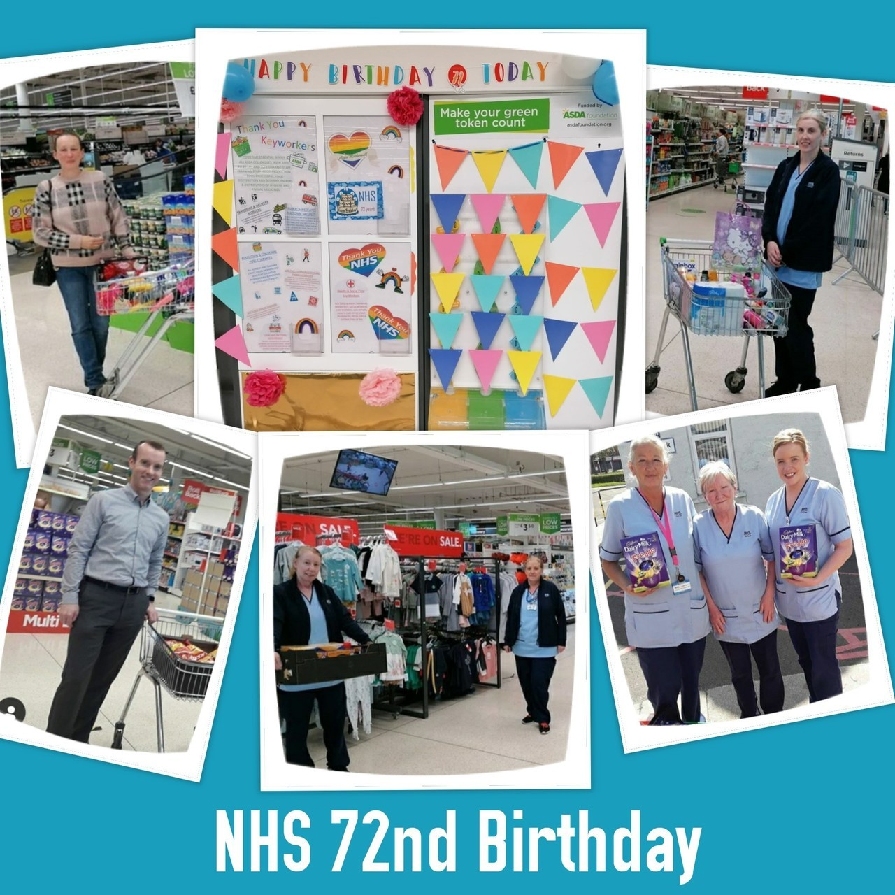 NHS 72nd Birthday  | Asda Motherwell
