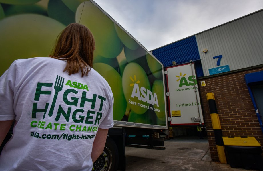 Asda has donated one million meals from surplus food to FareShare Go