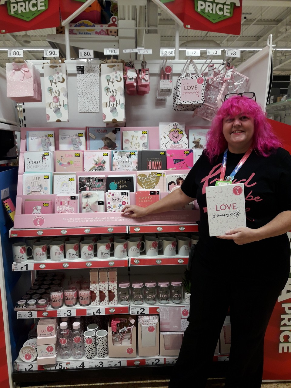 Tickled Pink is here | Asda Leicester