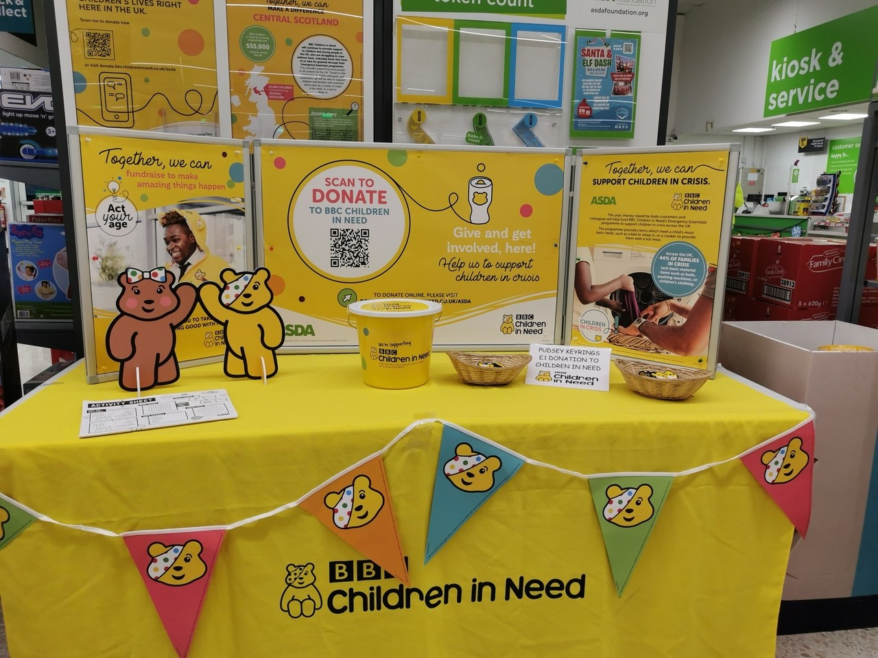 Supporting Children in Need  | Asda Falkirk