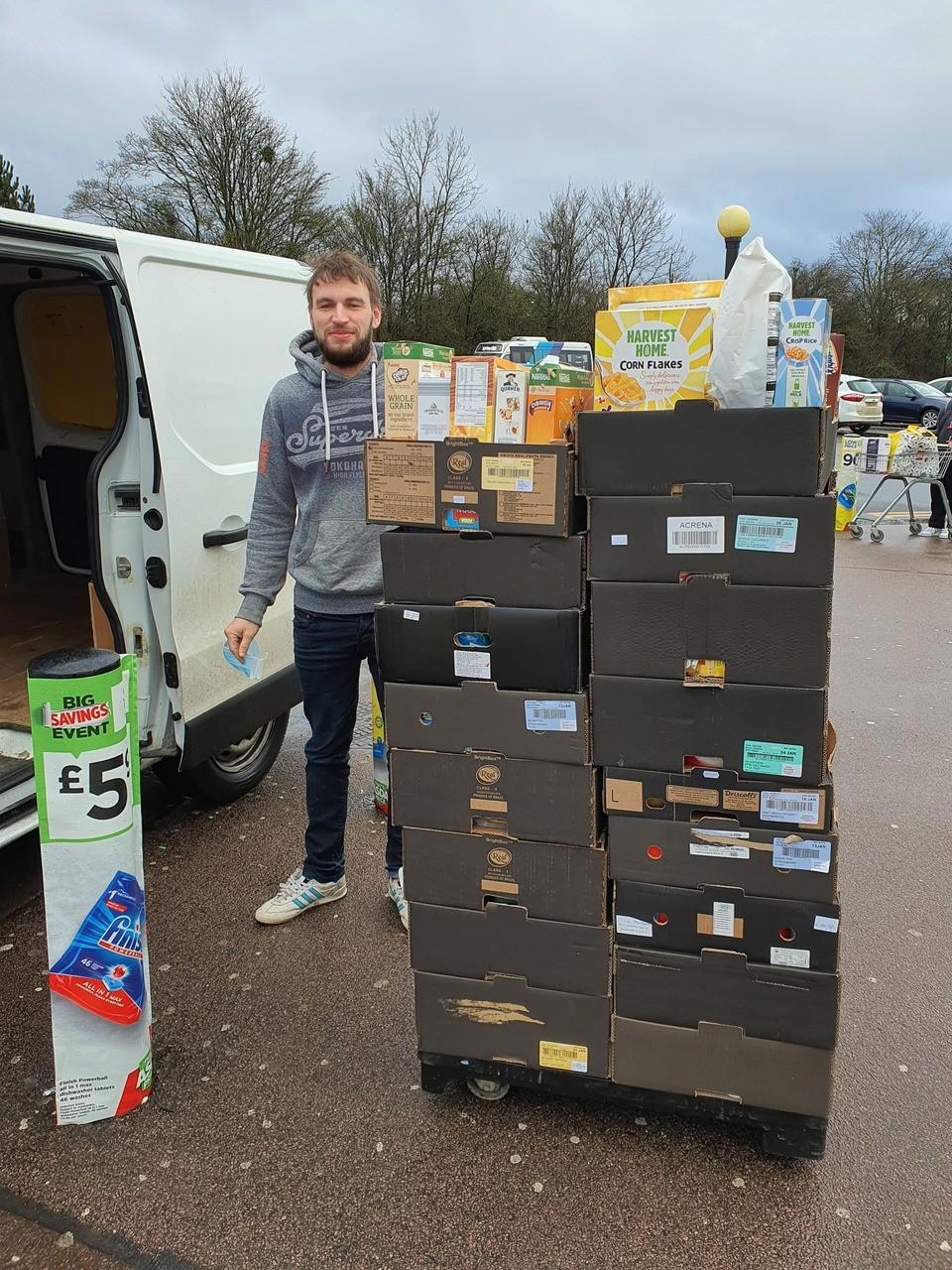 Foodbank collection | Asda Leicester