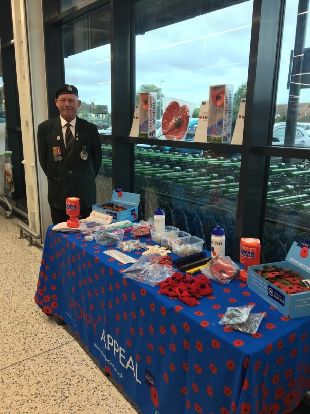 Clacton-on-Sea poppy appeal
