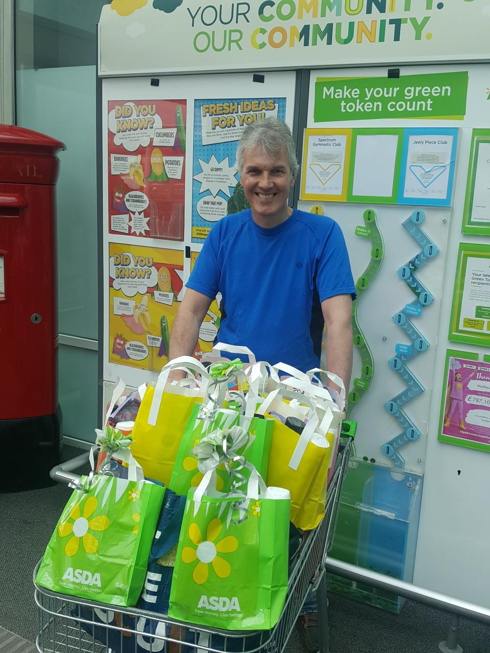 Govanhill Women's Service donation | Asda Toryglen