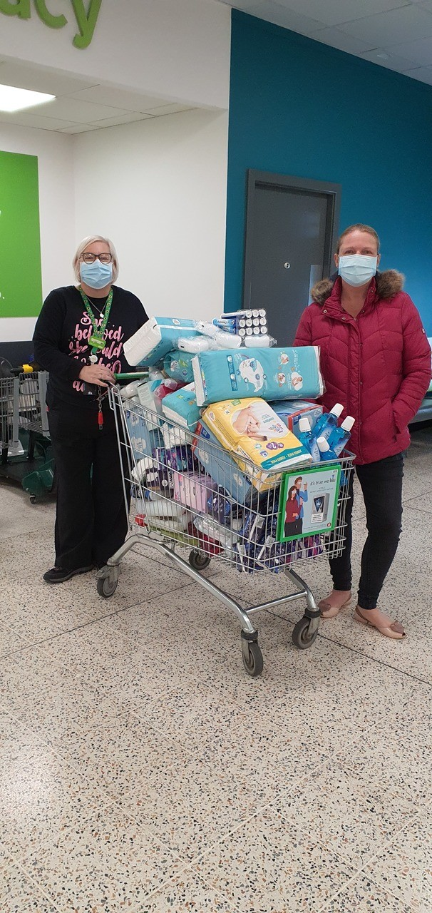 Supporting our food bank | Asda Carcroft
