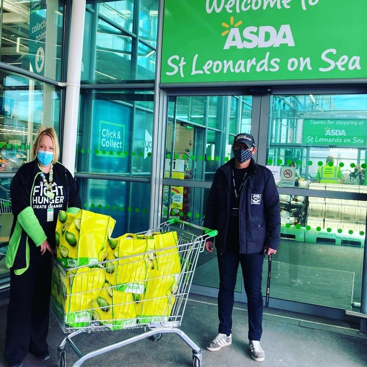 Fighting hunger | Asda St Leonards on Sea