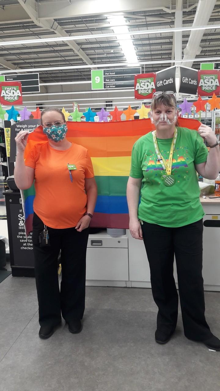Celebrating Pride | Asda Wrexham