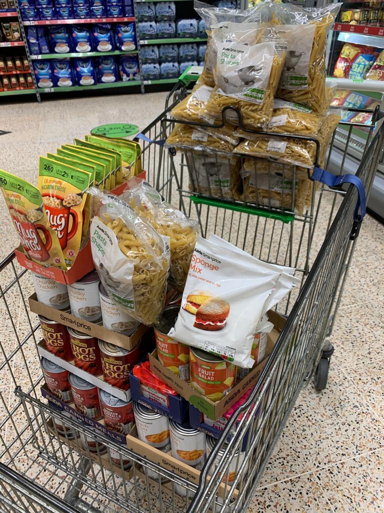 Dundee Foodbank support | Asda Dundee Kirkton