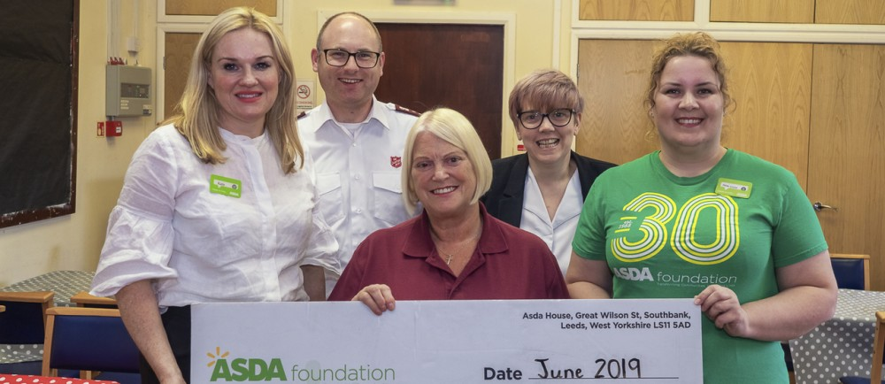 Asda Foundation grant to Rock Ferry Salvation Army