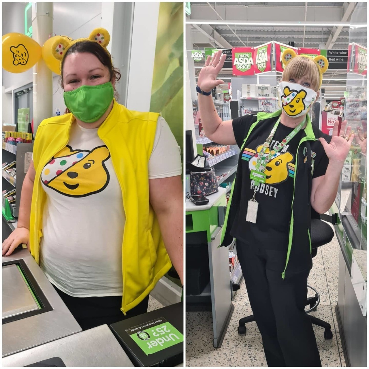Children in Need fundraising | Asda Newport Isle of Wight