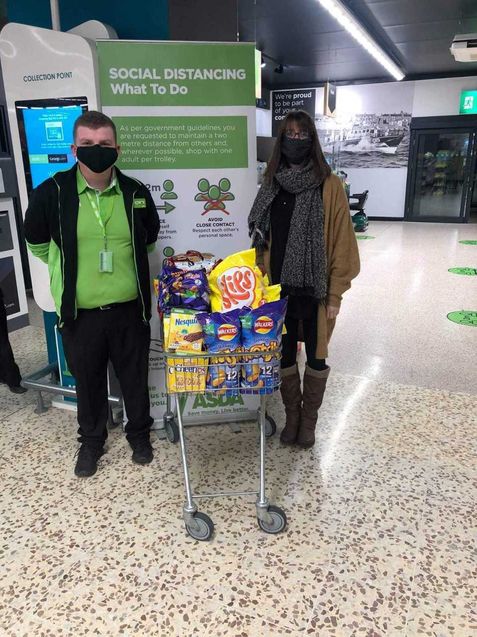 Donations to schols | Asda Peterhead