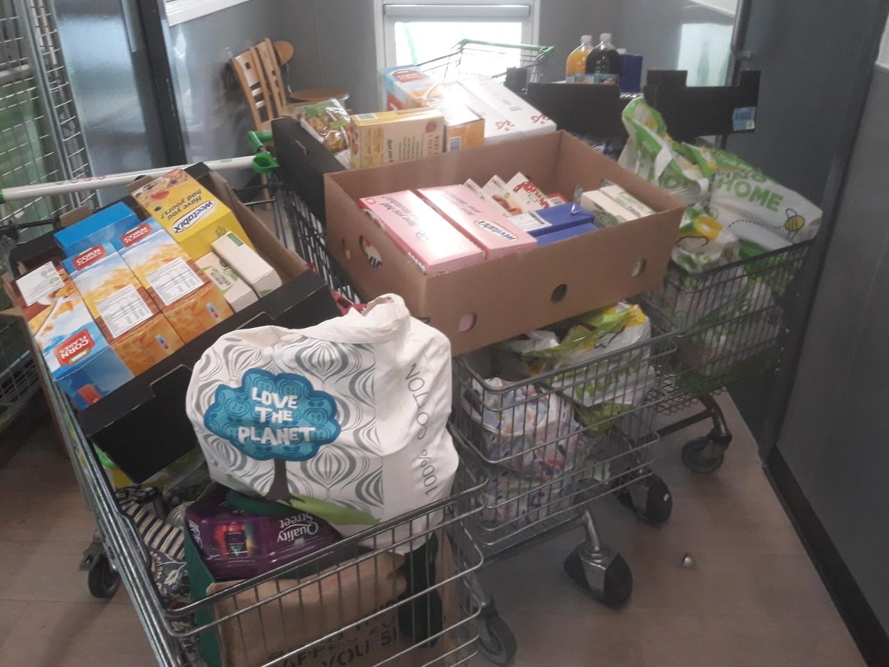 Foodbank donation from Asda Hartlepool | Asda Hartlepool