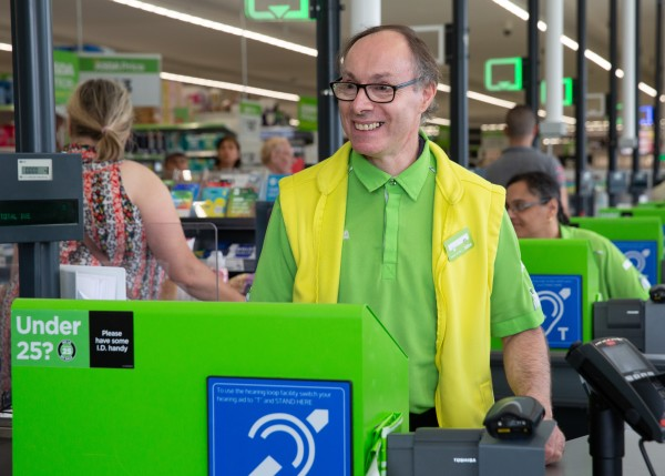 Paul Humphreys from Asda Abbey Park is a hit with customers on Facebook