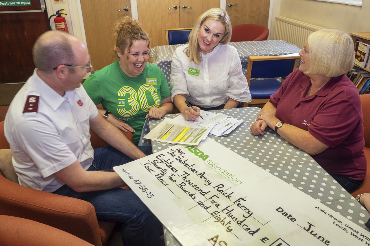 Asda Foundation grant to Rock Ferry Salvation Arm