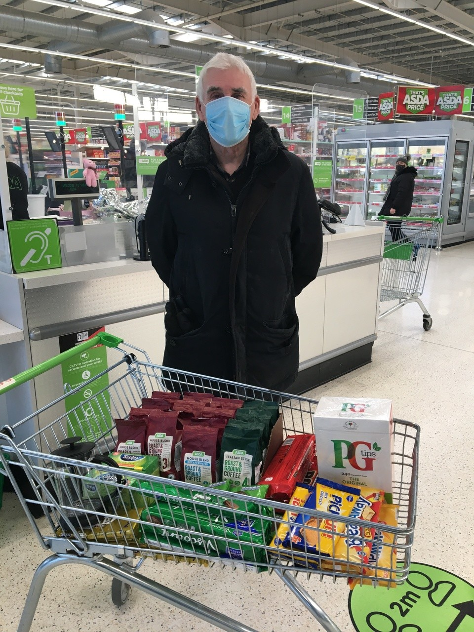 Supporting Great Western hospital with a donation of goods | Asda Swindon Haydon