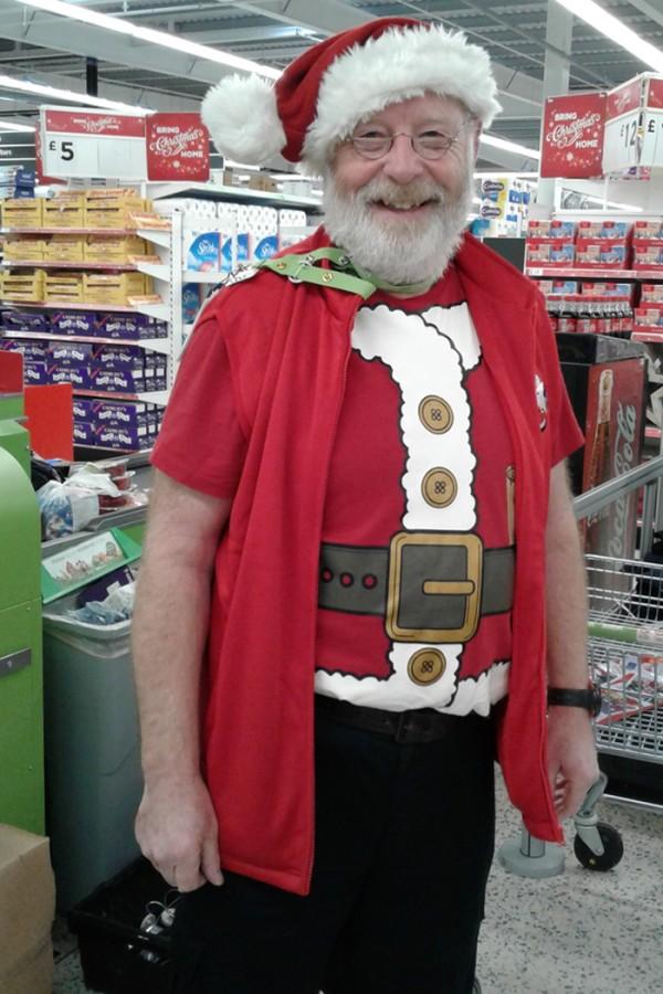 Santa at Asda Gillingham Pier