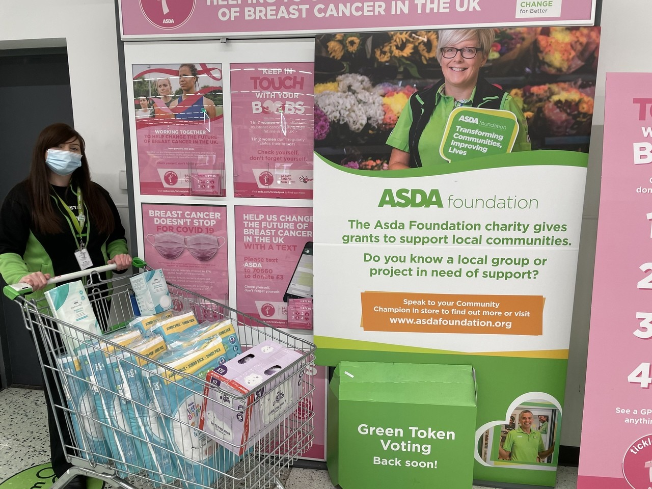 Donation to Baby Godiva Coventry | Asda Abbey Park