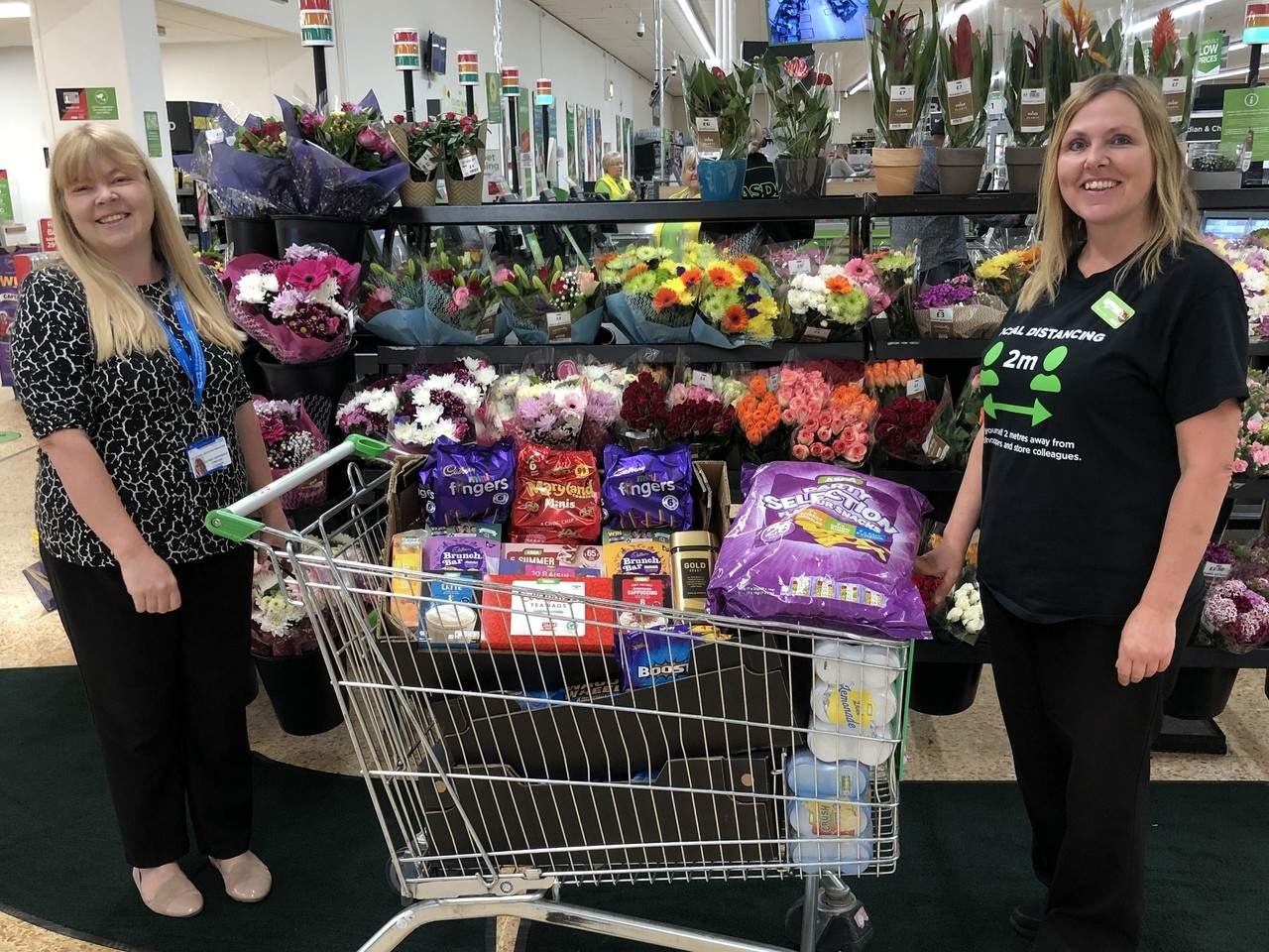 Donation to hospital volunteers | Asda Waterlooville