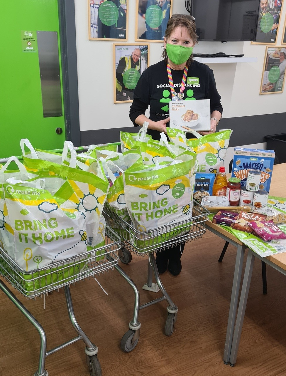 Fight Hunger family bags | Asda Newport Isle of Wight