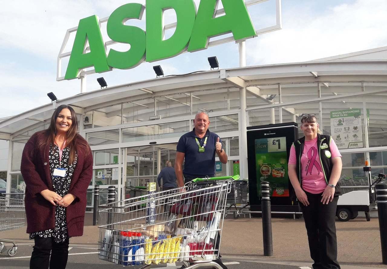 Donation time | Asda Wrexham