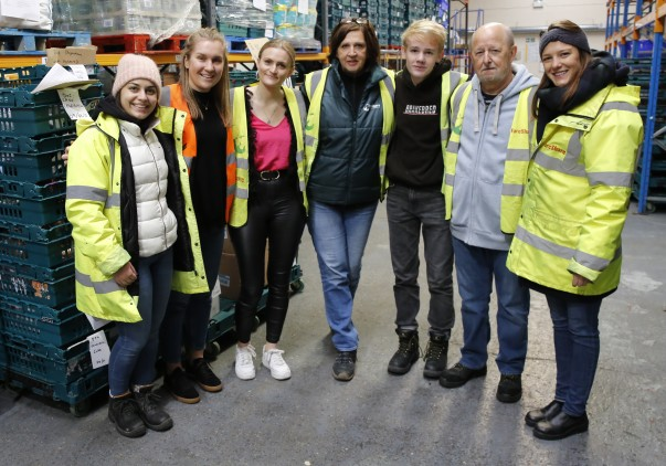 The Asda Fight Hunger Create Change programme is allowing the FareShare London depot to expand