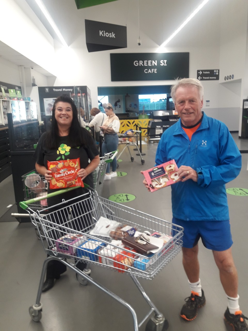 Chescombe Trust donation | Asda Patchway