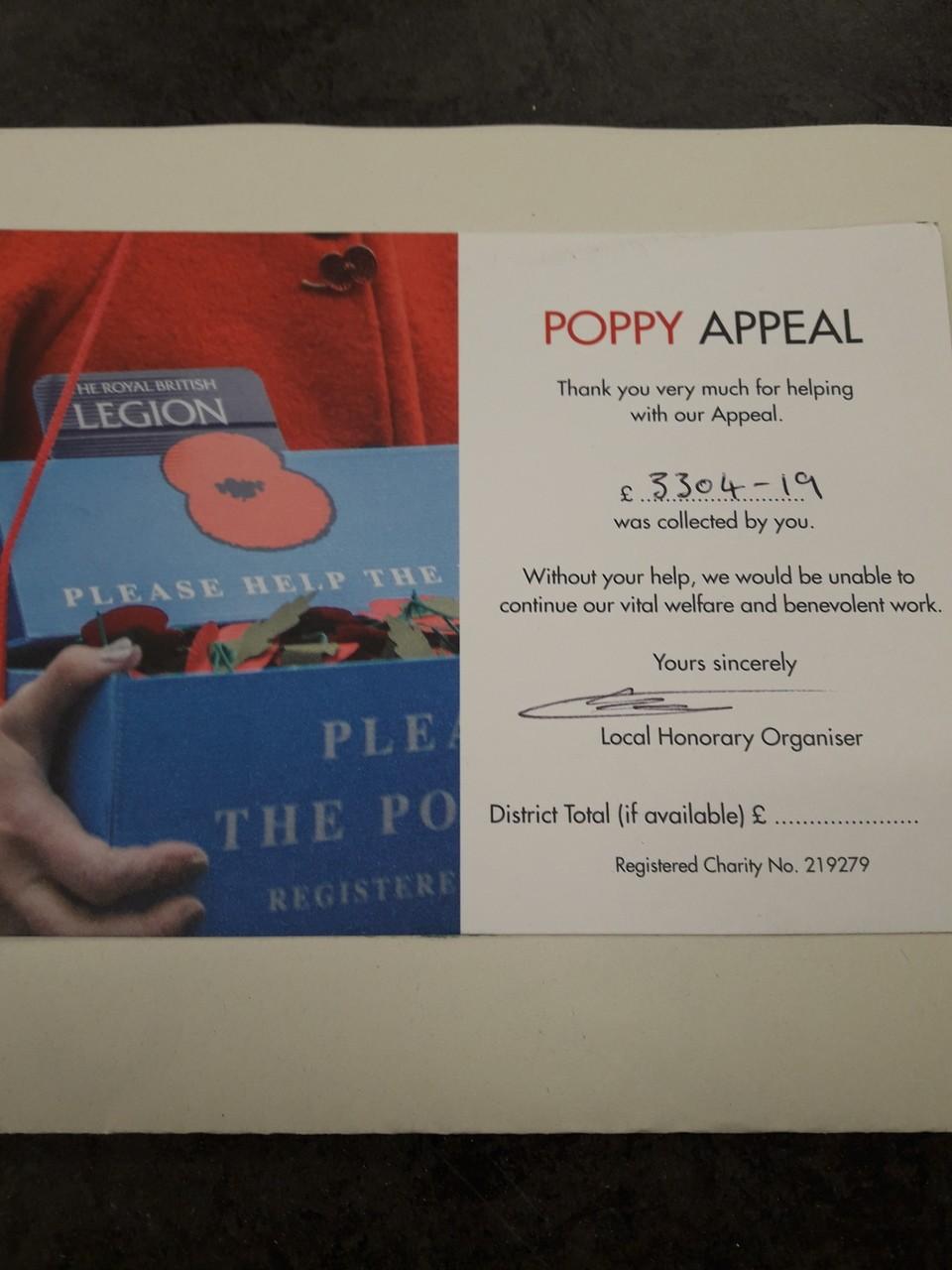 Poppy Appeal | Asda Llandudno