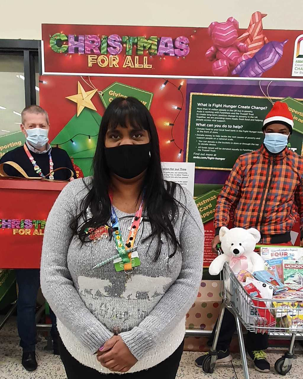 Christmas donation toSt Mary's PCC Hayes | Asda Hayes