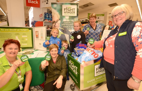 Asda Kilkeel teams up with local foodbank as part of Fight Hunger Create Change