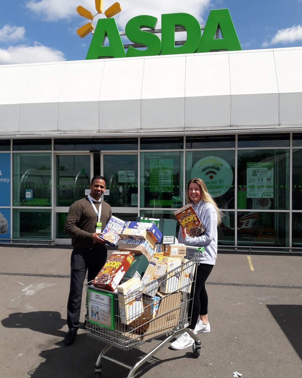 Night Shelter support  | Asda Leamington Spa
