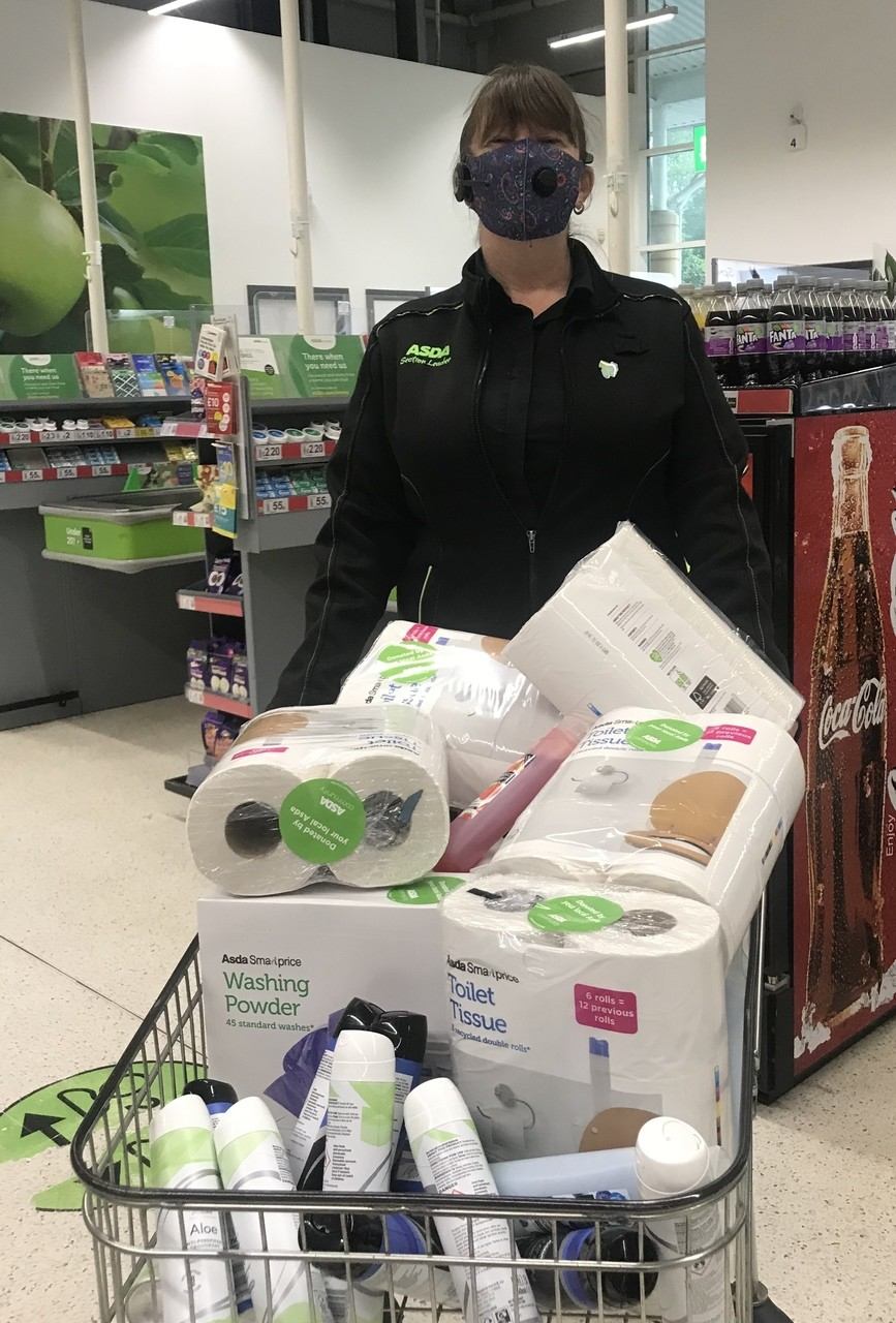 Donation to Fair Frome Food Bank | Asda Frome