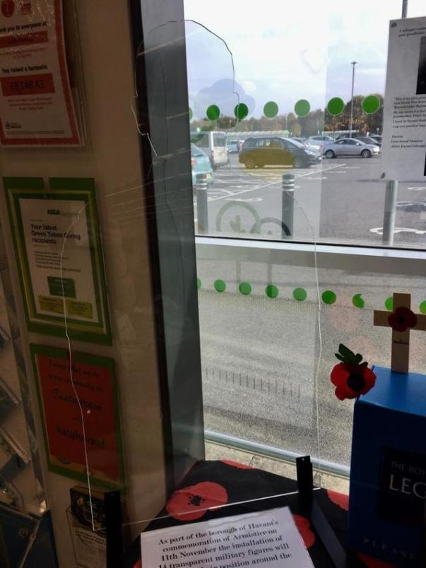 Poppy Appeal at Asda Havant