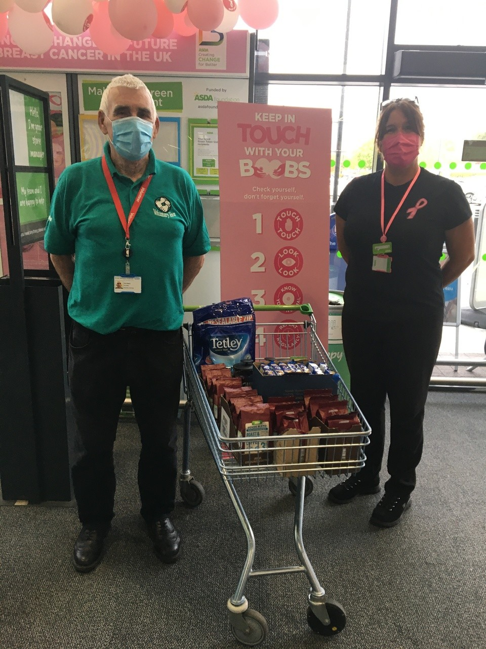 Supporting Great Western Hospital with a donation Asda Swindon Haydon | Asda Swindon Haydon
