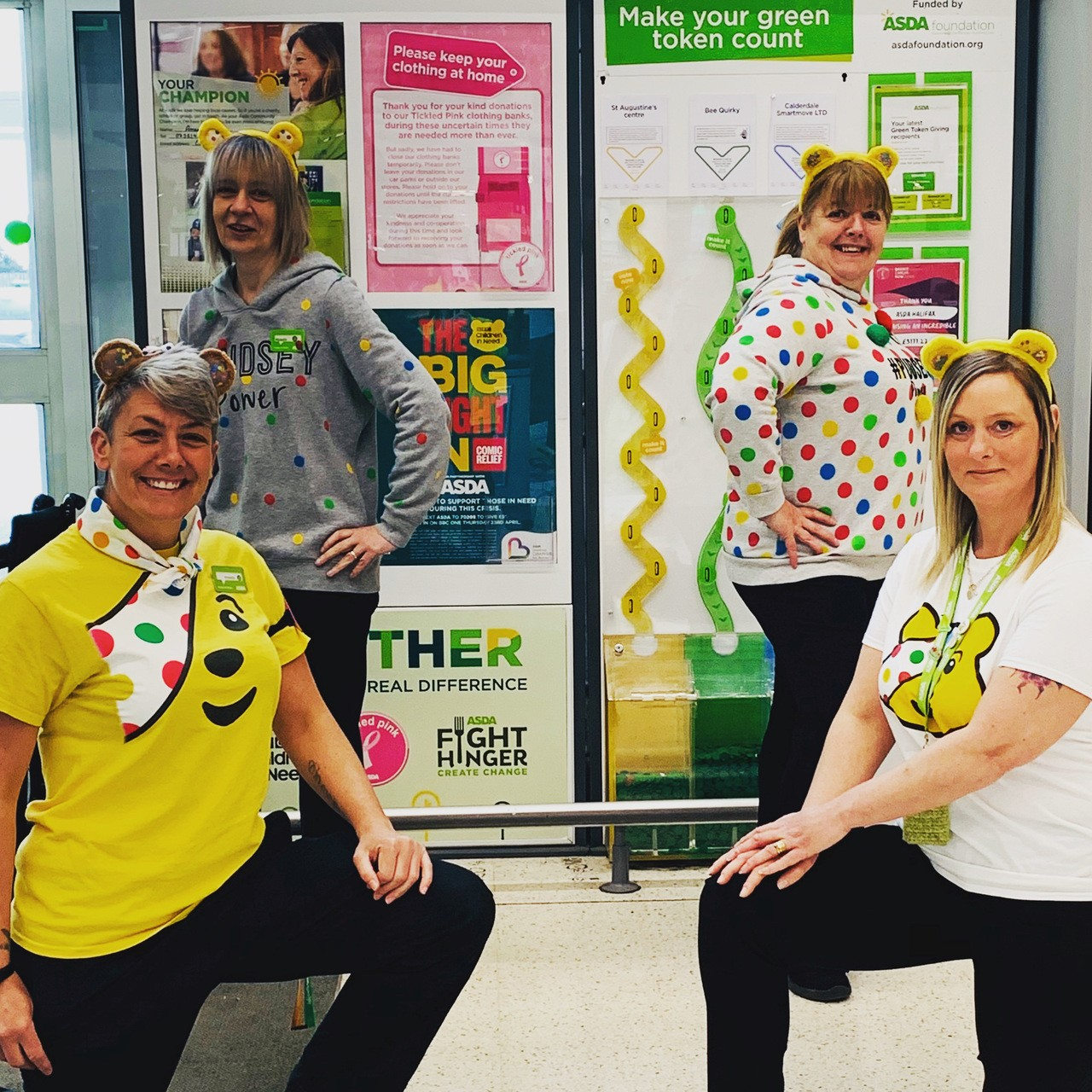 All set for the Big Night In | Asda Halifax