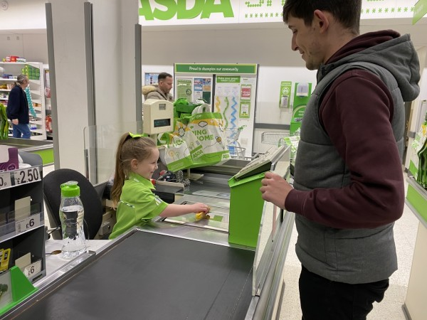 Asda Portsmouth makes Bella-Rose's dream come true