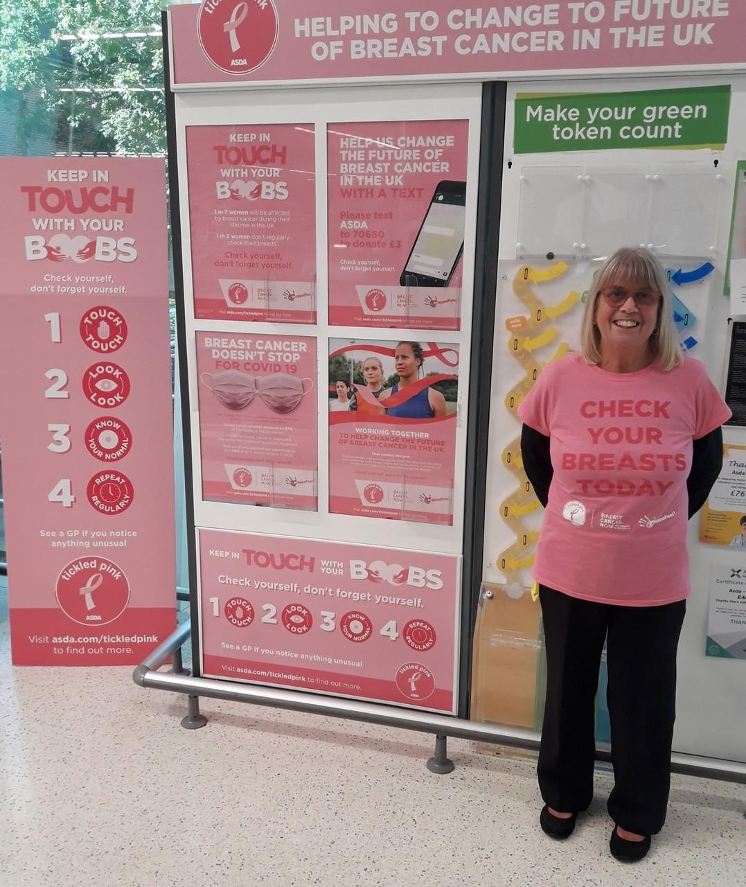 Tickled Pink support | Asda Kingshill