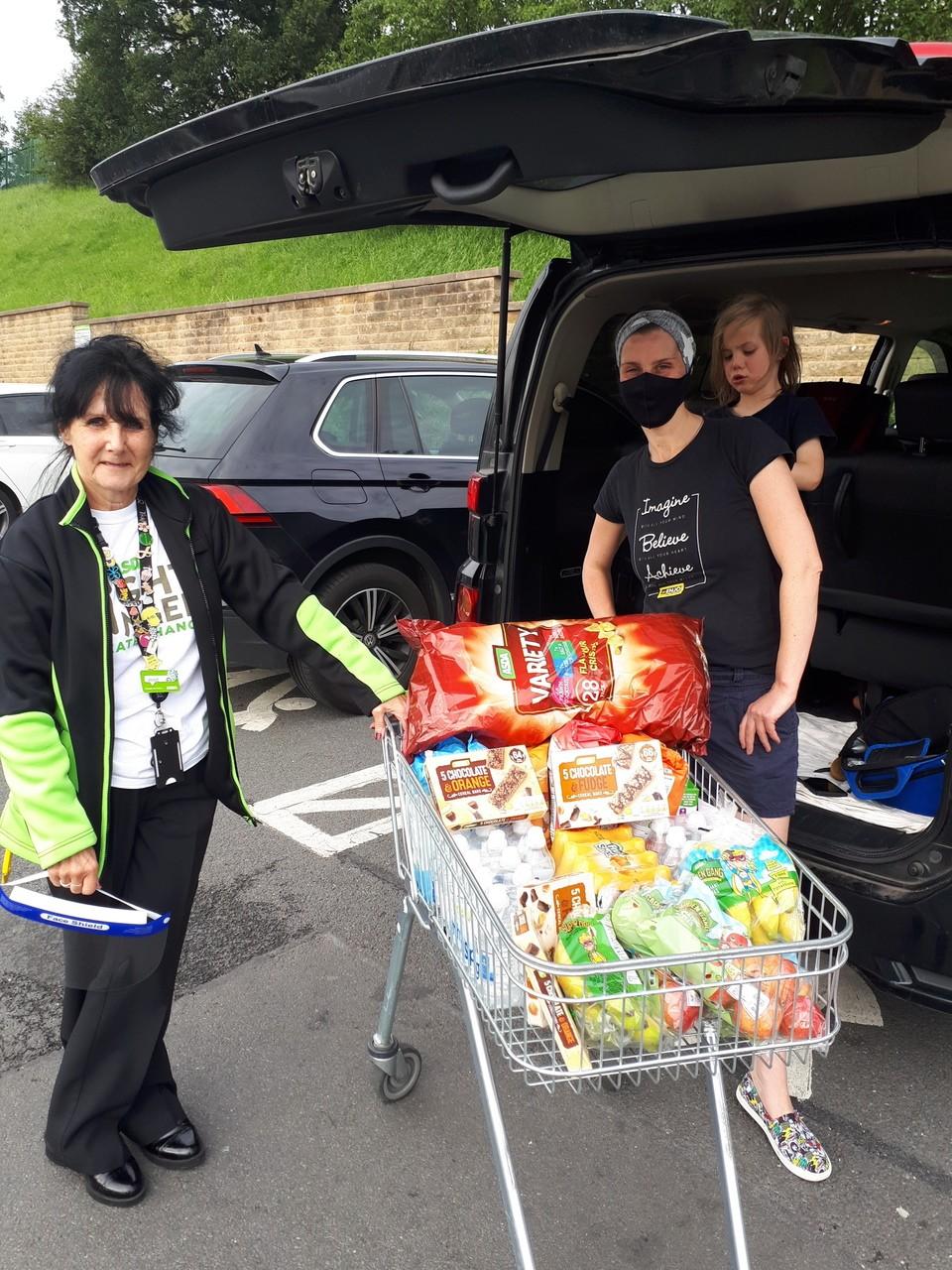 Sling Library donation | Asda Huddersfield