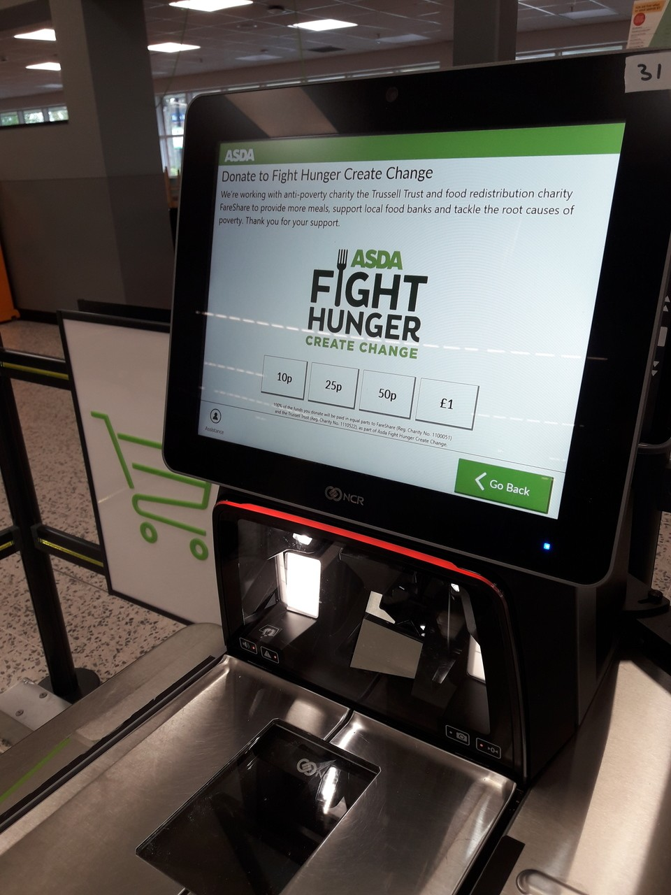 Fight hunger | Asda Gosforth