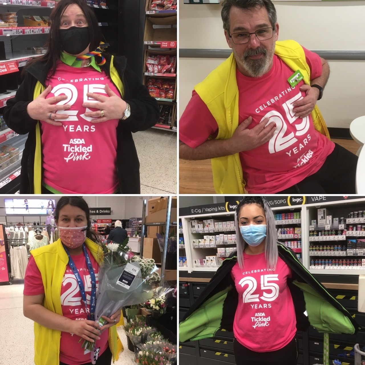 Tickled Pink at Keighley | Asda Keighley