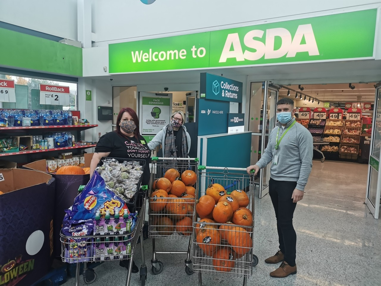 Halloween Party with a Difference  | Asda Dundonald