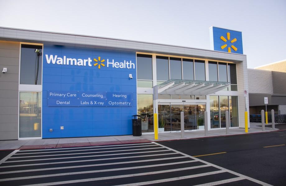 Walmart Health Center Exterior
