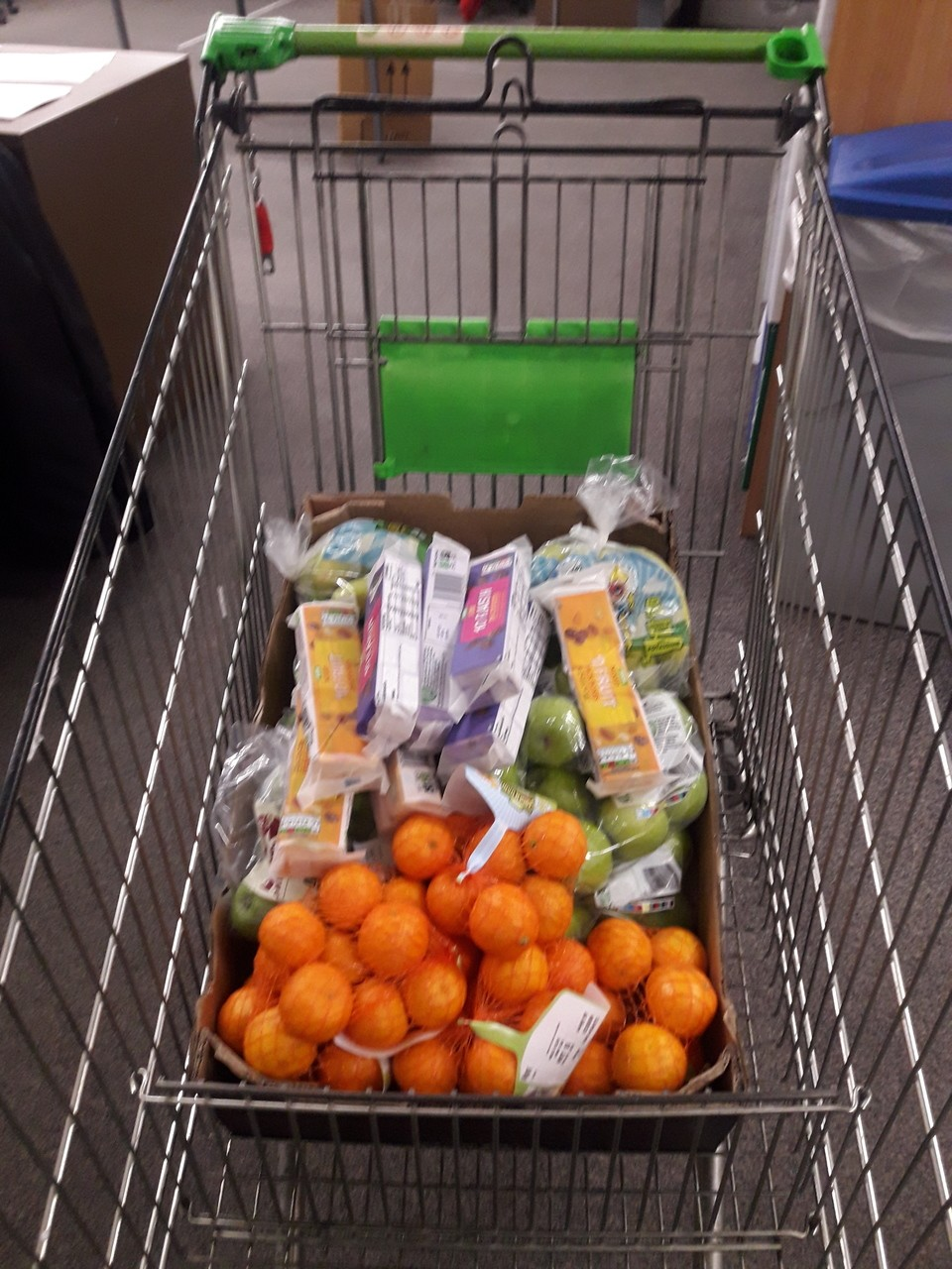 fruit donation to our local school for the children who's parents our key workers | Asda Taunton