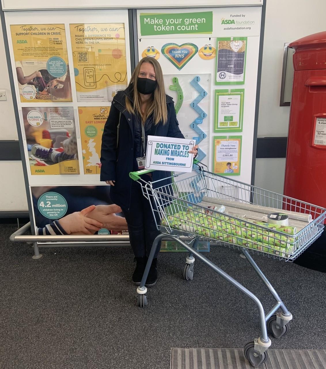 Making Miracles Donation | Asda Sittingbourne