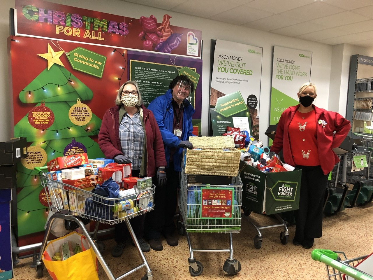 Thank you for the donations Derby | Asda Derby