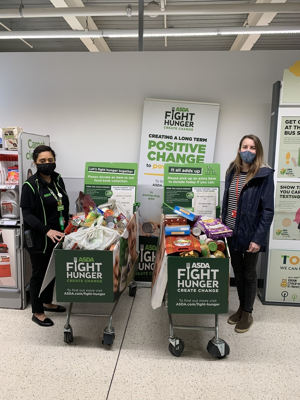 Food bank thanks  | Asda Feltham