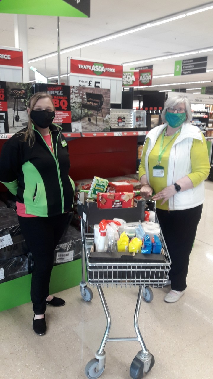 Goods donation to Darlington and district Samaritans | Asda Darlington