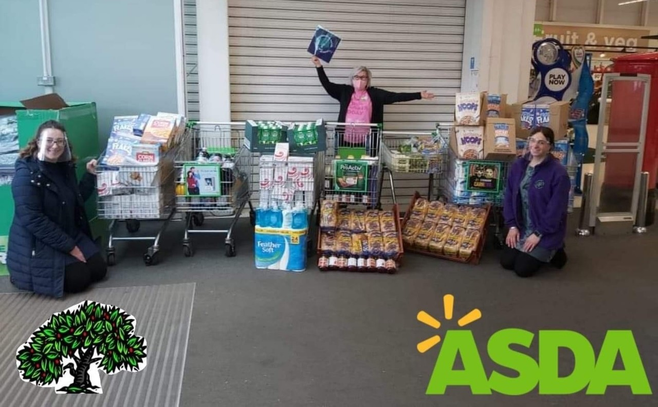 School breakfast club donation | Asda Donnington Wood