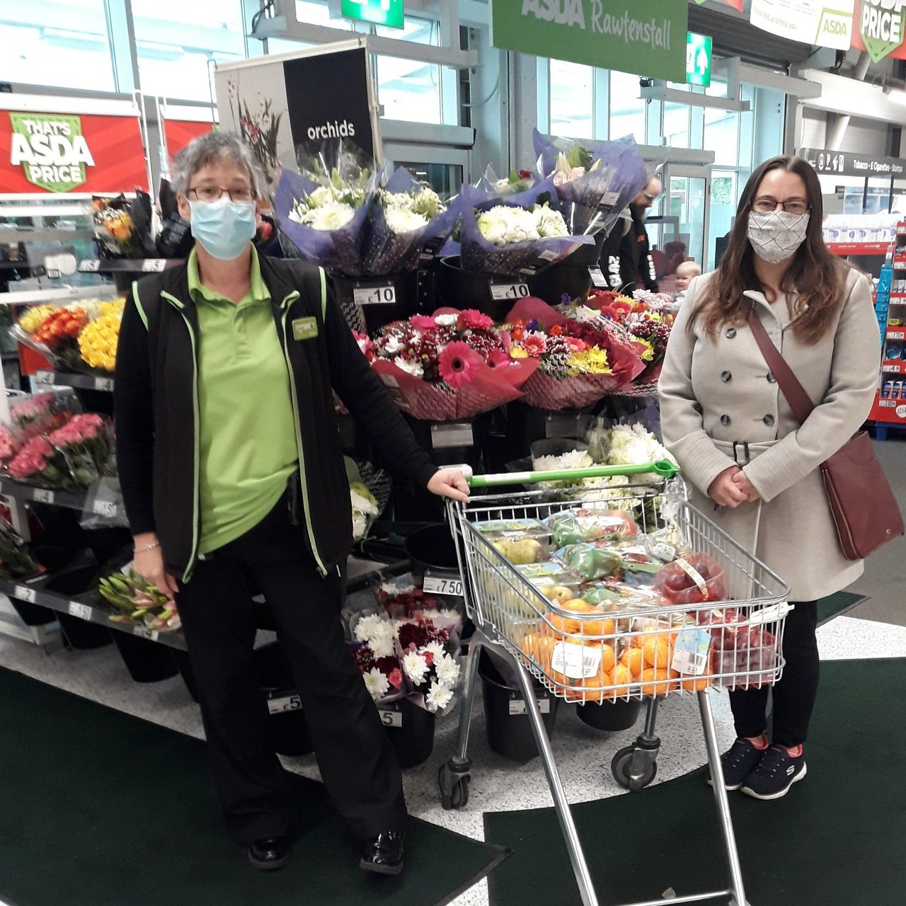 Trinity Baptist Church donation | Asda Rawtenstall