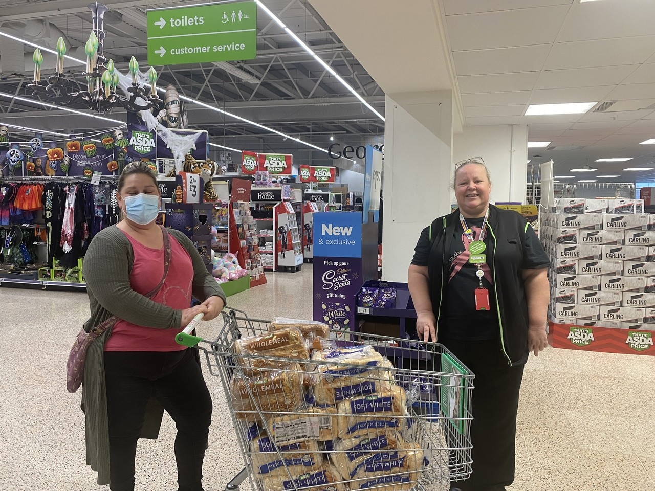 Food donations for the community | Asda Gosport